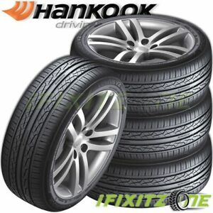 4 Hankook Ventus V2 Concept 2 H457 215 45r17 91v All Season 45 000 Mileage Tires