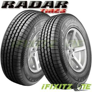 2 Radar Rivera Gt10 Lt215 85r16 115 112q All Season Truck Tires 45k Mi Warranty