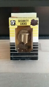 Brand New Ilco High Security Tubular Key Mortisse Lock Cylinders 3 Keys