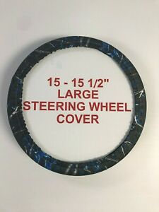 Camouflage Steering Wheel Covers Sirphis Undertow Large 15 15 5