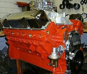 Mopar Dodge 413 425 Horse Complete Crate Engine pro built 426 440 528 New Bbm