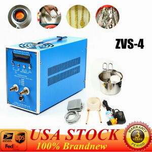High Frequency Induction Heater Furnace Stainless Steel Heating Machine Zvs 4 Us
