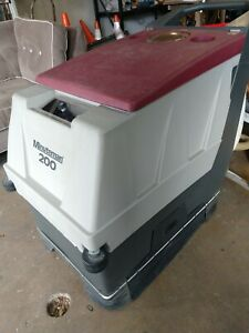 Minuteman 200 Industrial Floor Scrubber No Charger
