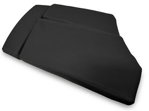 Center Console Lid Armrest Leather Cover For Bmw E60 2003 2010 Black