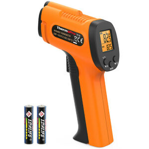 Thermopro Digital Lcd Non contact Infrared Thermometer Laser Thermometer f c