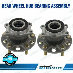 2 Rear Wheel Bearing hub Assembly For Jeep Compass Patriot Dodge Caliber 512333