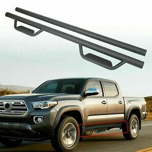For 05 20 Toyota Tacoma Double Crew Cab 3 Running Board Side Step Nerf Bar Hoop