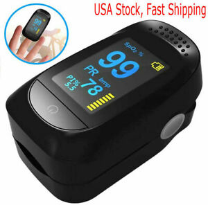 Immediate Shipping Oximeter Fingertip Pulse Blood Oxygen Monitor Fda Ce