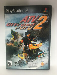 ATV Offroad Fury 2 (Sony PlayStation 2  2002) PS2 Game Complete with Manual