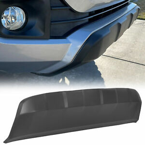For 2016 2020 Toyota Tacoma Front Lower Bumper Valance Panel Skid Plate Black