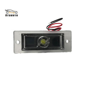 Universal Model Led Roll Pan License Plate Lamp Tag Light For Rollpan