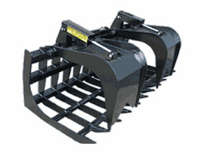 Loflin Monster Root Grapple For Skid Steer Loader