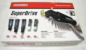 Grabber 5540it Super Drive 55 Series Screw Gun Kit With Rocker 4063 New In Box