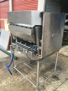 Nieco Automatic Natural Gas Broiler Model Mpb94 From Burger King With Stand