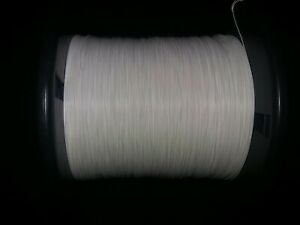 30 Awg Solid Kynar Wire Ul1423 White 1000 Ft Spool