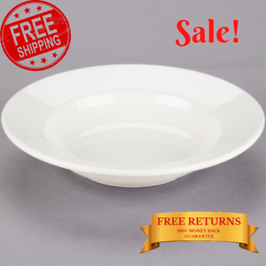 Ivory Soup Bowl Stoneware Oven Safe Stackable Kitchen Dining 10 Oz 6 pack New