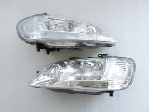 New 2002 2003 Mitsubishi Lancer Ls Es Sedan Wangon Clear Head Light Headlights