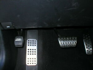 Charger Racing Style Dead Pedal Foot Rest