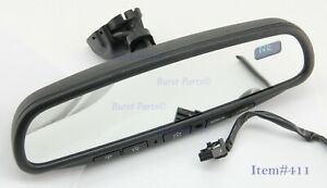 2003 2005 Nissan Murano Auto Dimming Rear View Mirror Gntx 313 Compass Homelink