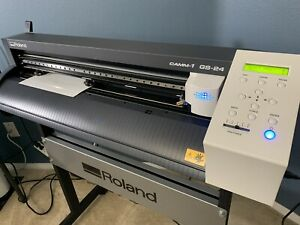 24 Roland Gs 24 Vinyl Cutter Cutting Plotter Camm 1 Professional With Stand