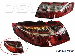 New 1999 2004 Porsche 911 996 Led Tail Lights Red Clear One Pair Fast Ship