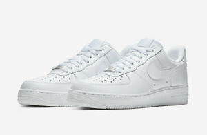 NIKE AIR FORCE 1 '07 TRIPLE WHITE 315122 111 Men's sizes 4Y-14 *BRAND NEW IN BOX $109.95