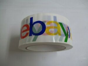 1 Roll Colorful Ebay Logo Packing Tape 2in X 75yds New From Bulk Pack Free Ship