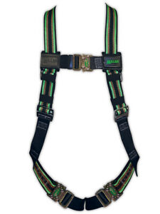 Miller Duraflex Quick connect Harness W One Back D ring