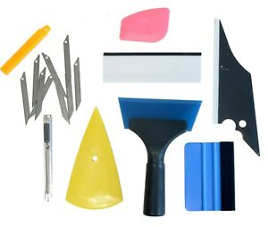 Window Tint Tool Kit Professional 8in1 Car Film Tools Squeegee Scrappers 8pcs