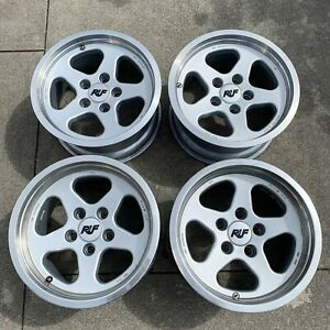 Ruf By Speedline Wheels 17 Porsche 911 930 Genuine Rare Original Production