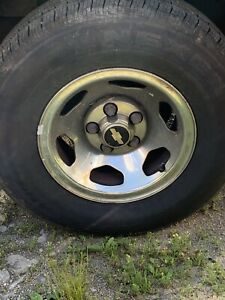 Chevy 6 Stoke 5 Lug Rims No Tires