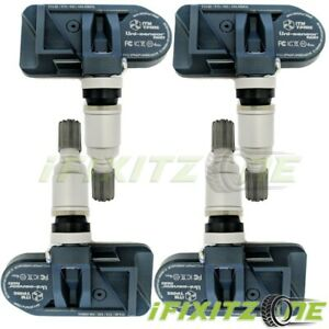 4x Itm Tire Pressure Sensor Dual Mhz Metal Tpms For Chrysler Town country 04 05