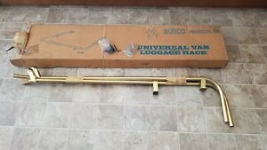 1970 1980 s Nos Chevy Ford Dodge Vintage Roof Luggage Rack Custom Van Gold Rare
