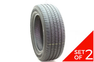 Set Of 2 Used 275 55r20 Michelin Ltx M s2 113h 7 5 8 32