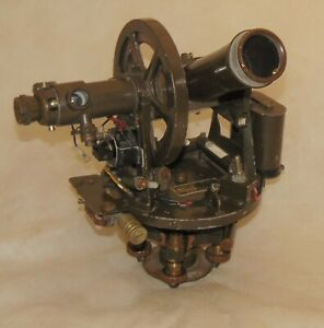 David White Double center Theodolite Ml 474 gm 6061 Pibal Pilot Ballon