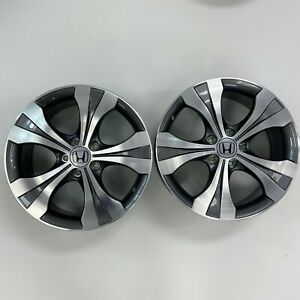 Set Of 2 Honda Accord Civic Cr V Hr V Crosstour 18 Wheels Rims Factory Oem