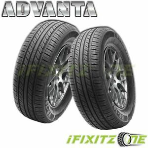 2 Advanta Er 700 215 55r16 97h All Season Performance Tires 45k Mileage Warranty