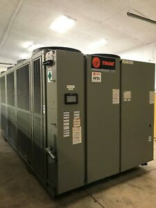 2014 Trane Rtae 250 Ton Stealth Air Cooled Chiller 460v Only 11 000 Hours