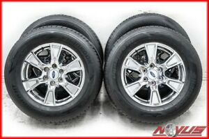 18 Ford F150 Expedition Fx4 Fx2 Chrome Oem Factory Wheels Michelin Tires 17 20