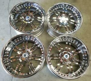Asanti Wheels Rims 20 Inch 5x120 Staggered Older Model Bmw 6 And 7 Series