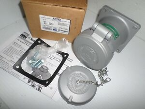 new In Box Appleton Adr15034 150 amp Pin sleeve Receptacle 150a 600v 3w 4p