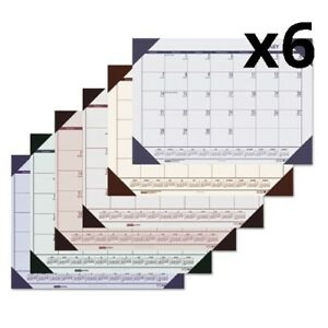 Recycled Ecotones Woodland Green Monthly Desk Pad Calendar 22 X 17 2020 Pack