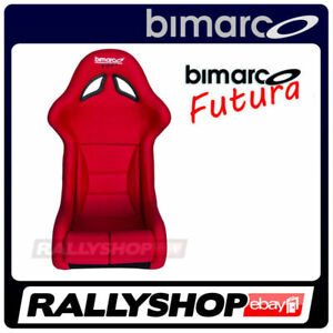 Bimarco Seat Fia Racing Futura Red Homologation Cheap Rally Race Fast Delivery
