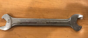 Snap On Rs1618b 1 2 X 9 16 Double Open End Speed Wrench
