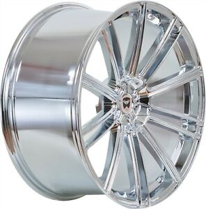 4 G35 Flow 20 Inch Chrome Rims 20x10 Fits Dodge Avenger Sxt Rt 2008 2010