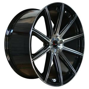 4 G42 Mod 20 Inch Black Rims 20x10 Fits Dodge Avenger Sxt Rt 2008 2010