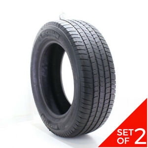 Set Of 2 Used 275 60r20 Michelin Defender Ltx M s 115t 6 5 7 32