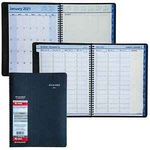 2021 At a glance Quicknotes 76 950 05 Weekly Monthly Planner 8 1 4 X 10 7 8