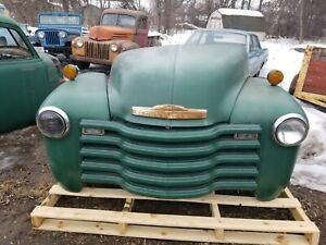 1947 1953 Chevy Truck Front Clip Shipping Included See Description