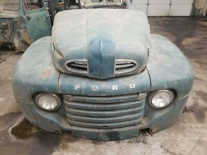 1948 1949 1950 Ford F 6 Truck Front Clip Shipping Included See Description